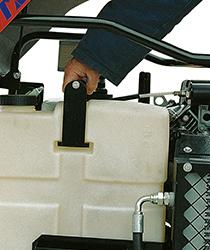 Réservoir carburant transparent 15 litres pour un contrôle immédiat du niveau d'essence