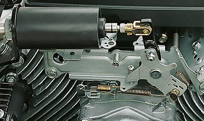Consommation d'essence limité grâce au système d'accélération automatique et progressif du moteur en fonction de l'air requis