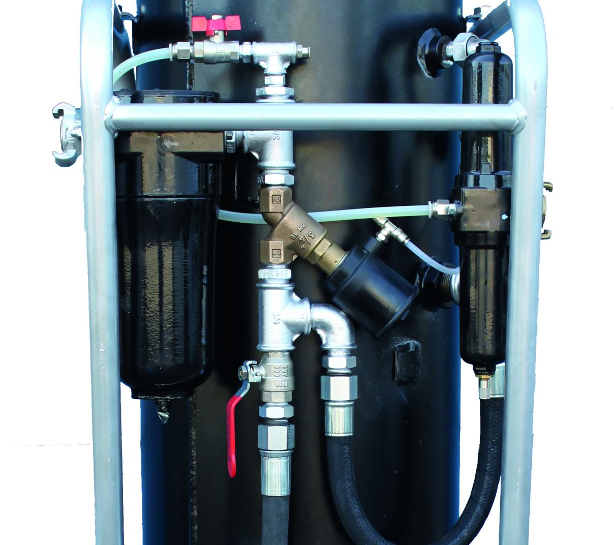 Séparateur d'eau.