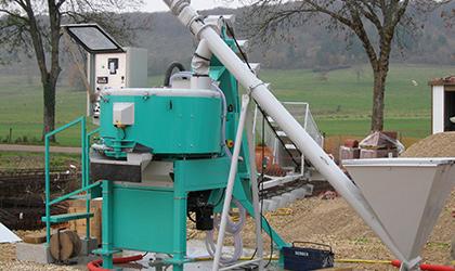 Extracteur à ciment et fluidificateur