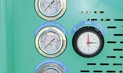 Manomètres de pression hydraulique