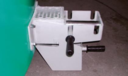 Dispositif de prélevement de béton