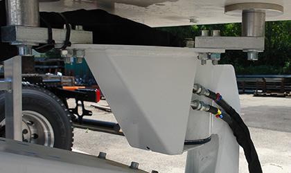 Moteur de rotation hydraulique du panier