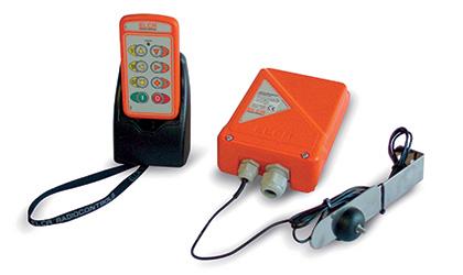 Radiocommande 5 fonctions avec contrôle de débit