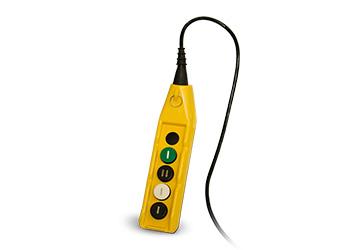 Commande à distance via un câble ON/OFF avec régulateur de débit