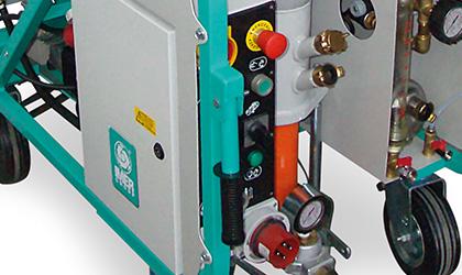 Tableau électrique optimisé avec un seul contacteur de 18,5 kW